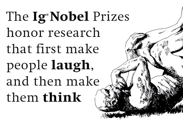 The 27th First Annual Ig® Nobel Prize Ceremony & Lectures