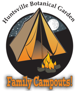Family Campout in the Garden