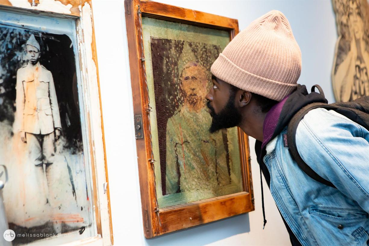 Conversation Among Artists: L'Merchie Frazier and Mildred Howard