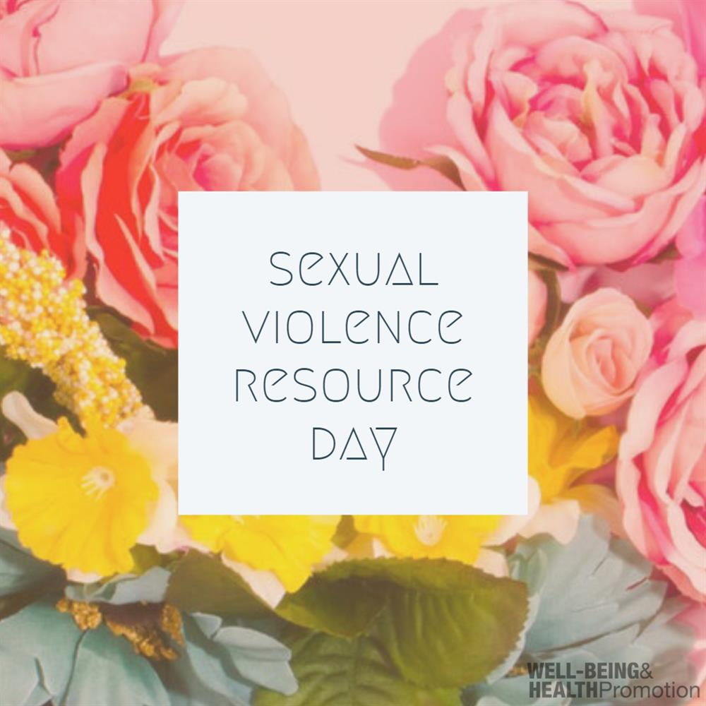 Sexual Violence Resource Event