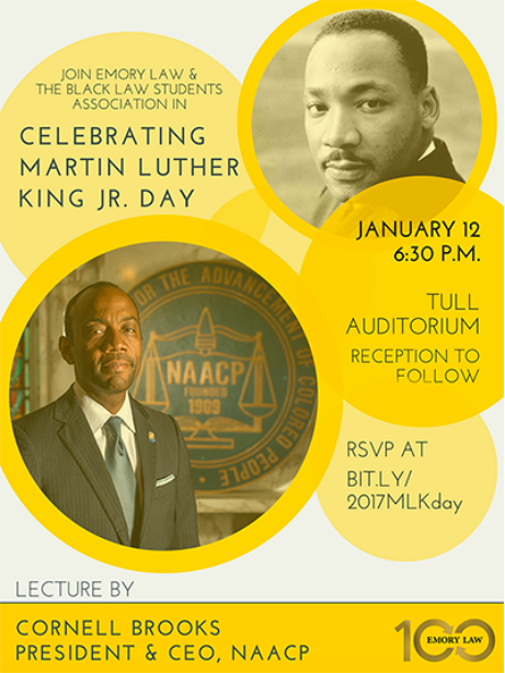 MLK Lecture with Cornell Brooks