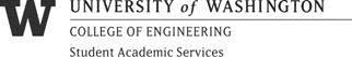 Student Academic Services, UW College of Engineering (322x53)