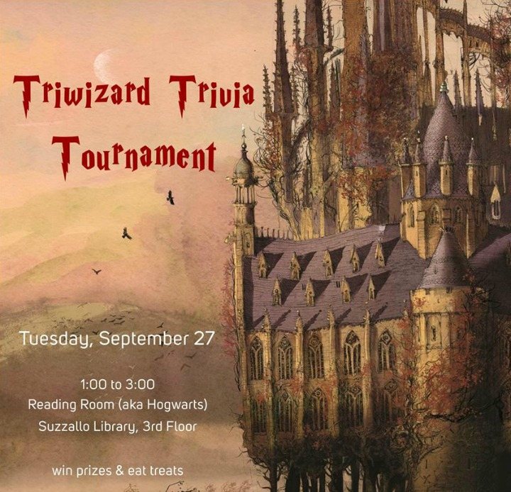 Dawg Daze 2016: Triwizard Trivia Tournament