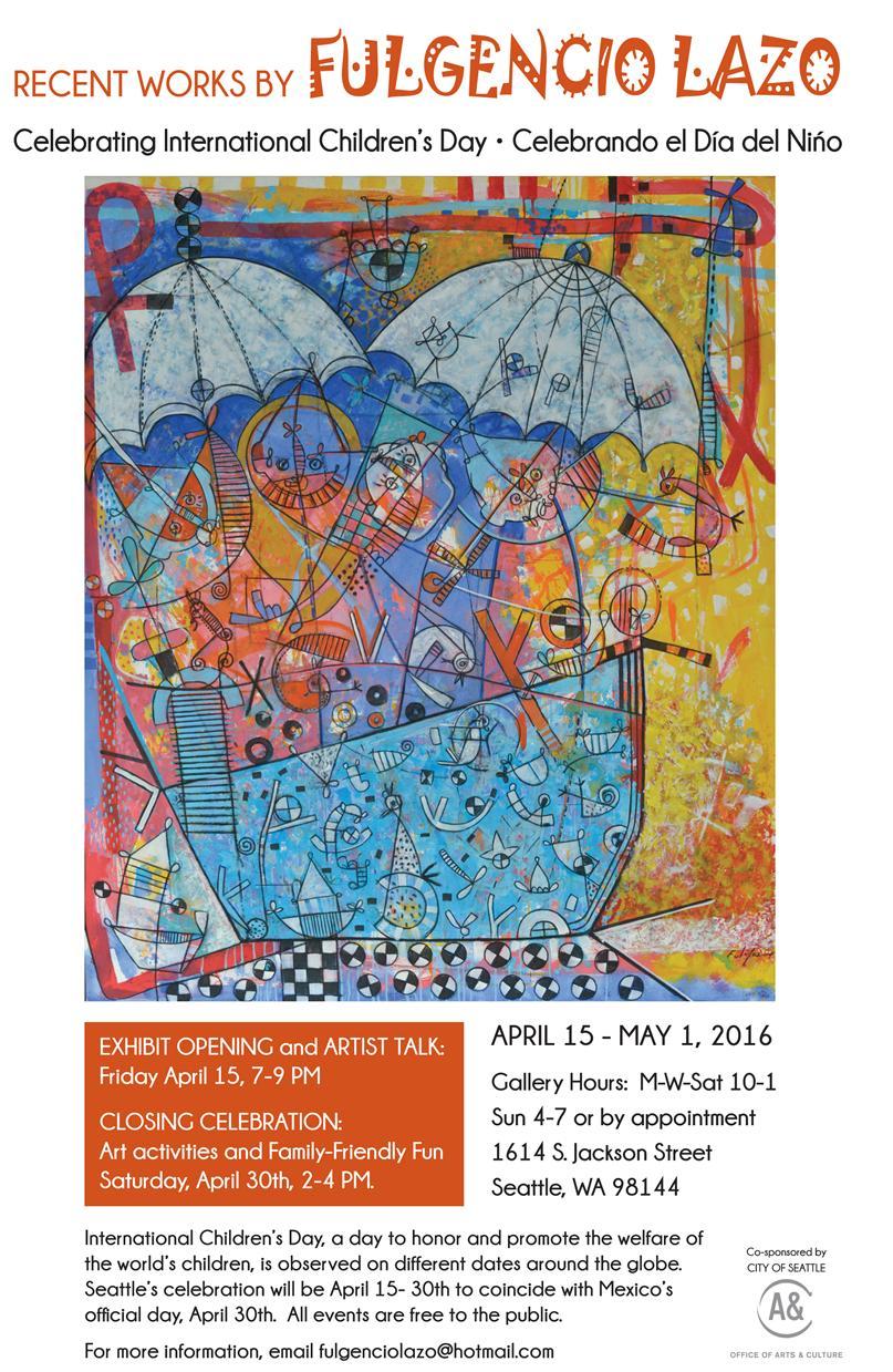 Calendar Art Sci : Exhibit opening artist talk friday april  pm
