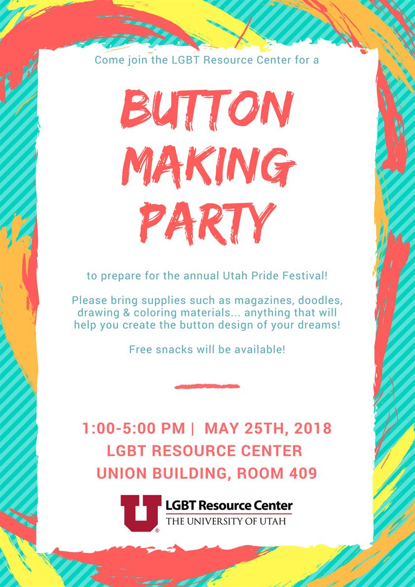 Button Making Party