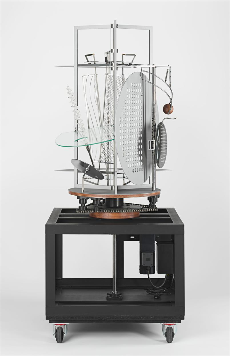 Gallery Talk: Activation of Moholy-Nagy's Light Prop for an Electric Stage