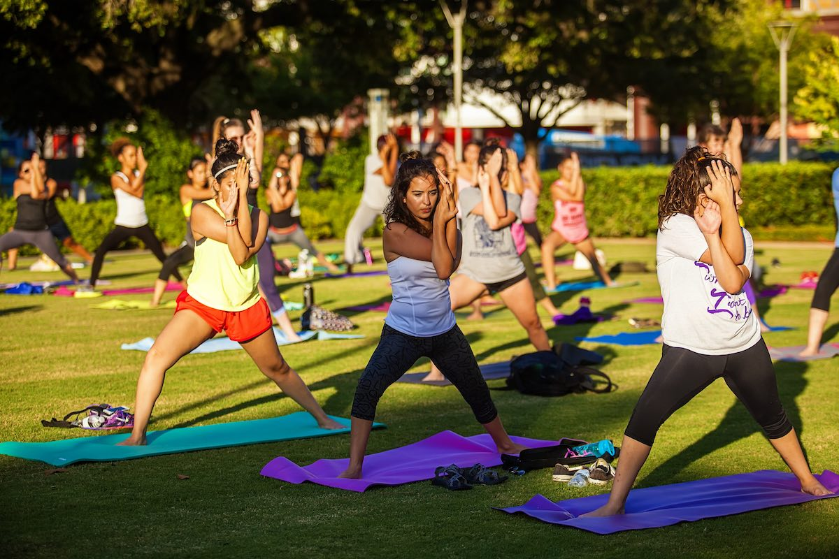 Core-Focused Yoga at Discovery Green