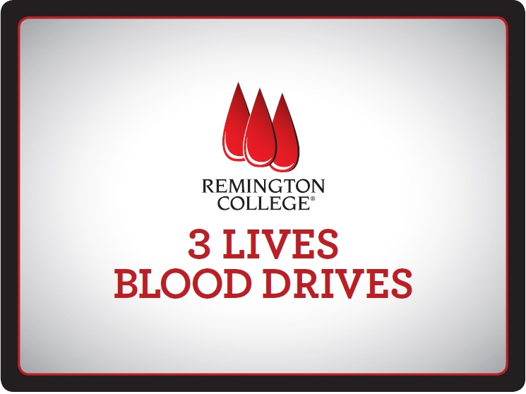 Remington College Greenspoint Campus holds 3 Lives blood drive
