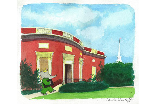 Babar Comes to Houghton Library