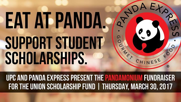 Pandamonium Fundraiser by UPC & Panda Express
