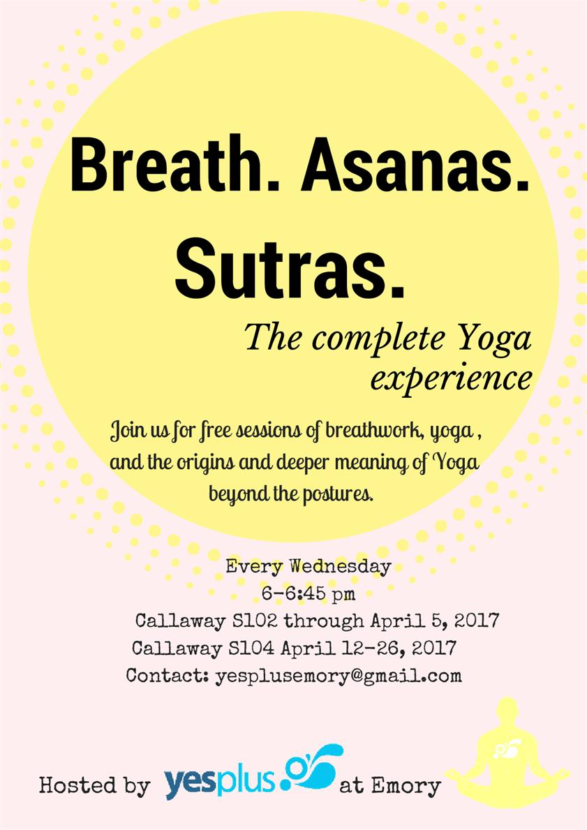 Breath. Asanas. Sutras.