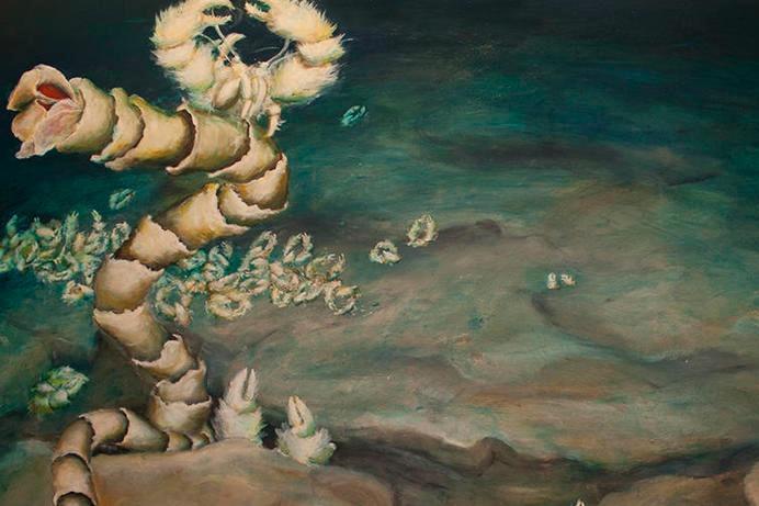 Lily Simonson: Painting the Deep