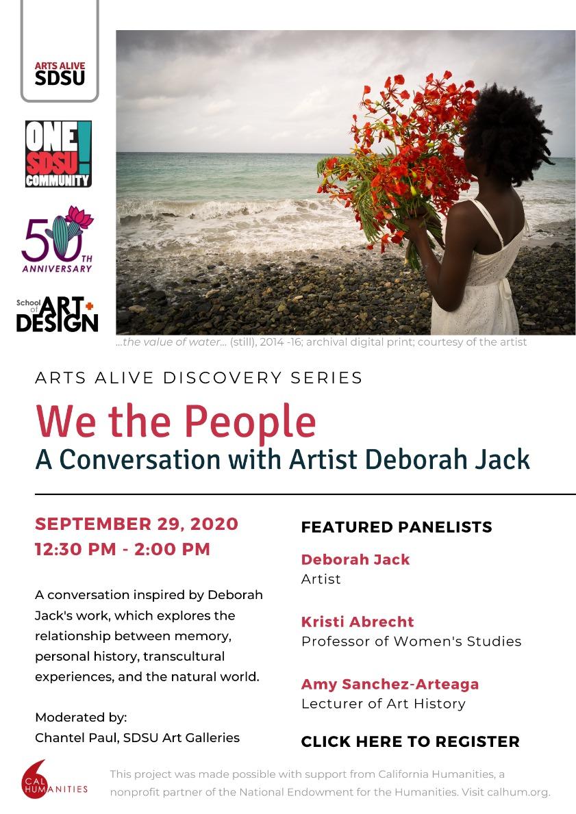 We the People - A Conversation with Artist Deborah Jack