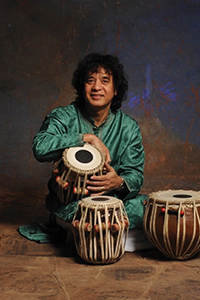 Crosscurrents: featuring Zakir Hussain, tabla & Dave Holland, bass