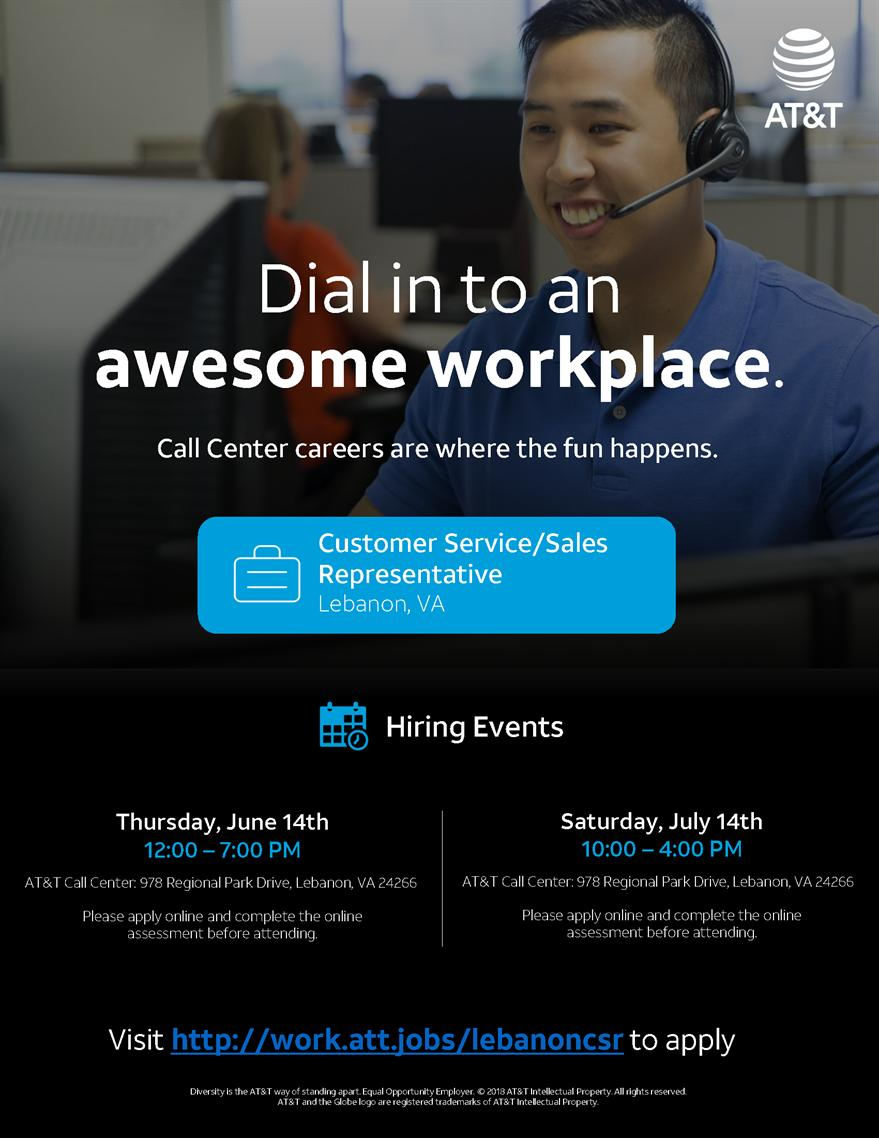 AT&T Call Center Sales Event