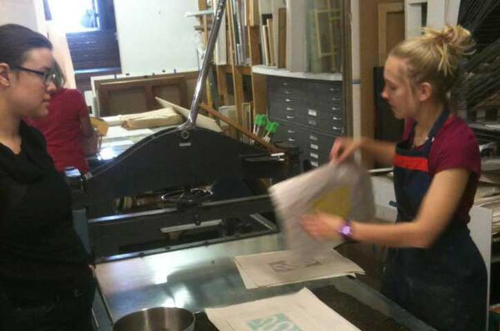 CVA: Gelatin Monotypes with Emily Moyer