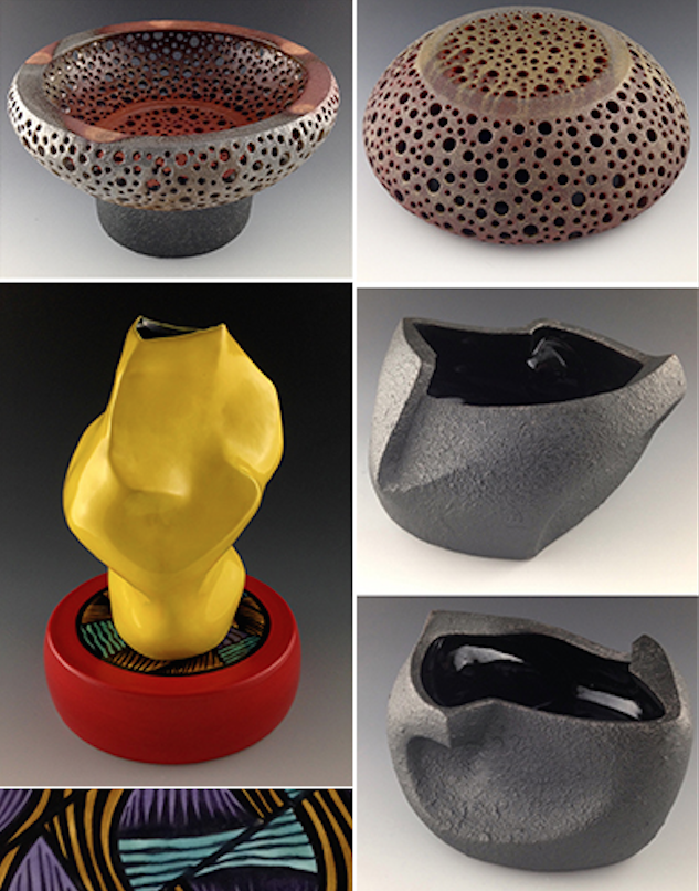 """""""Chemical Addiction – Ceramic Surfaces from the Rosenfield Collection"""" & """"Polyfunctional 