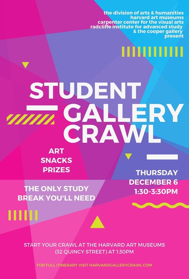 Harvard Student Gallery Crawl