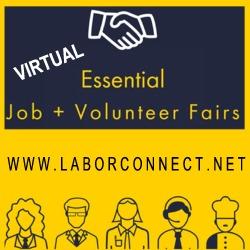 Virtual : Essential Job & Volunteer Job Fair Virginia