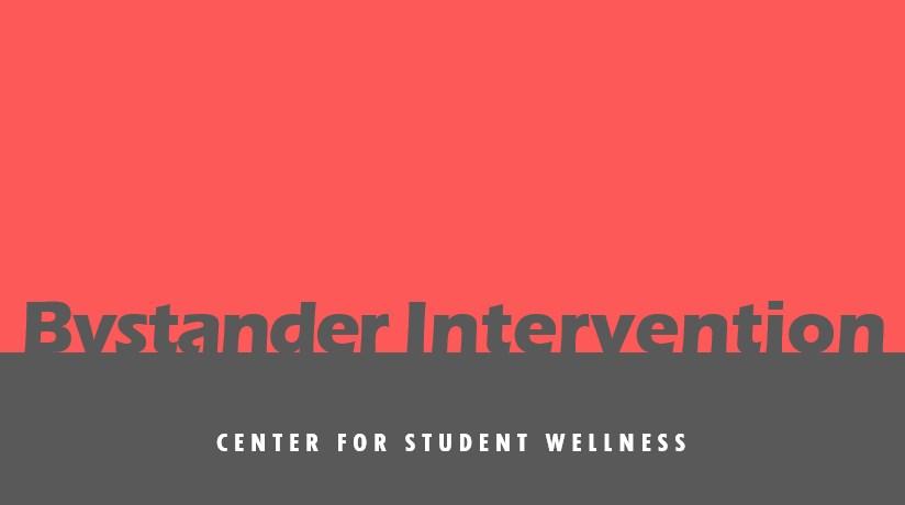 Bystander Intervention (for students)