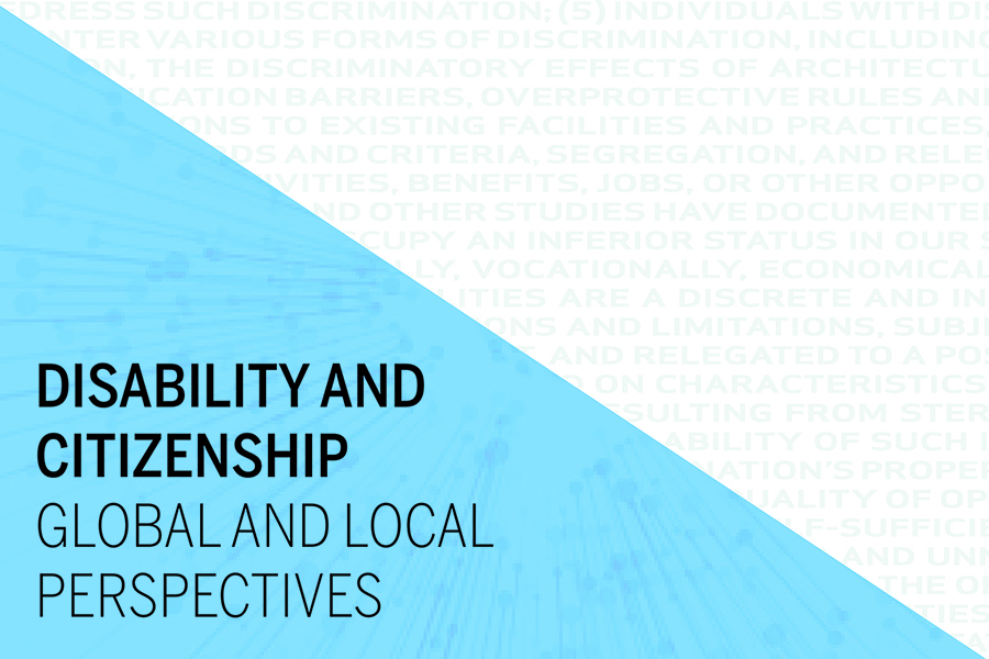 Disability and Citizenship: Global and Local Perspectives