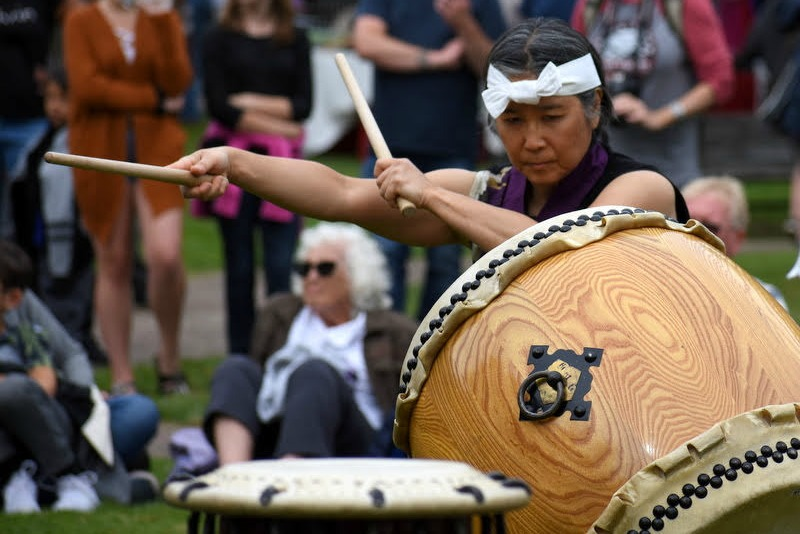 The Collective Power of Rhythm: Rebuilding the Japanese American Identity