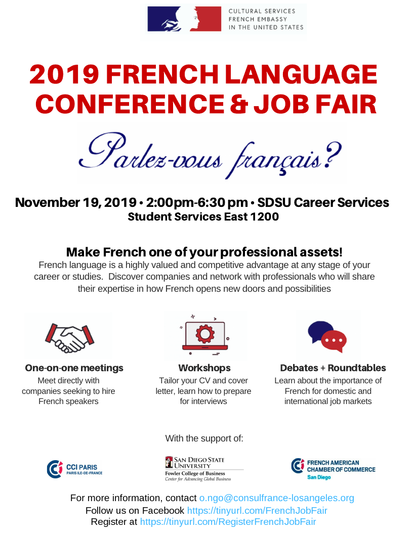 2019 French Language Job Fair & Conference