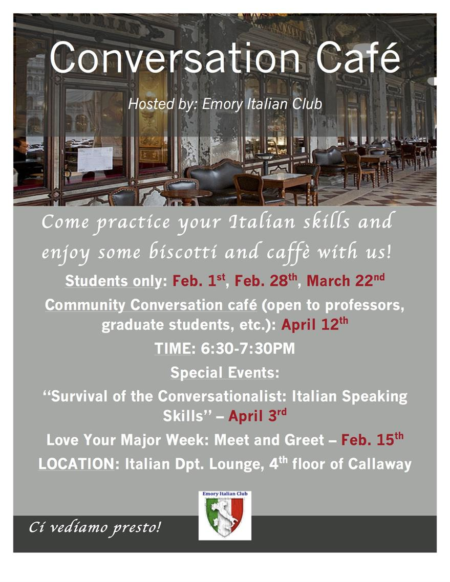 Italian Conversation Club