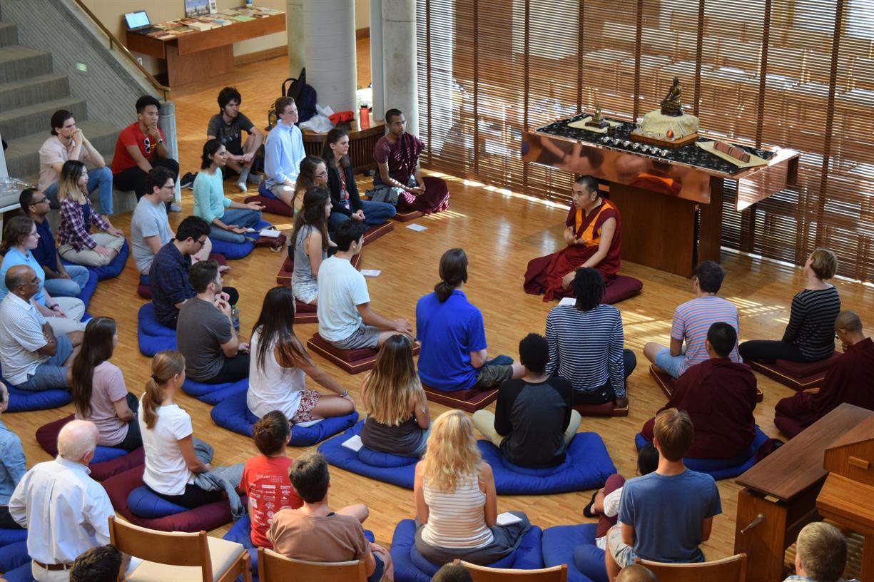 Guided meditation with Emory Buddhist Club