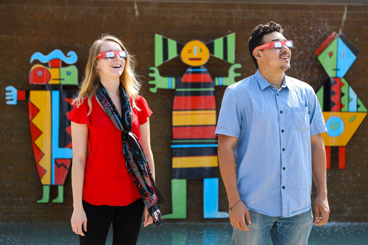 Welcome Week: Student Activities Day & Solar Eclipse Watch Party