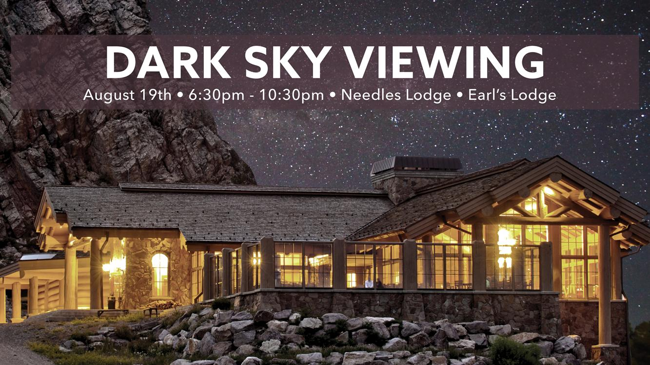 Dark Sky Viewing and Alien Party