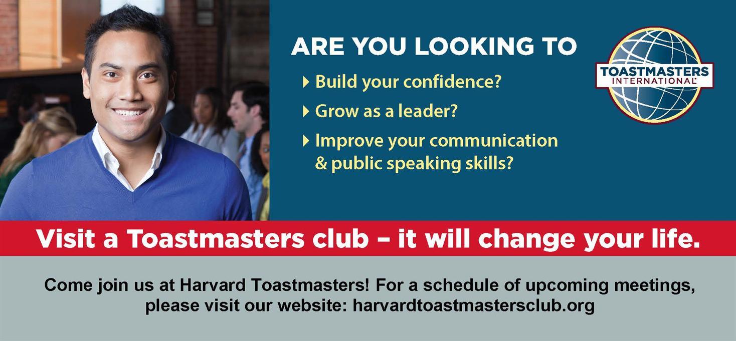 Harvard Toastmasters