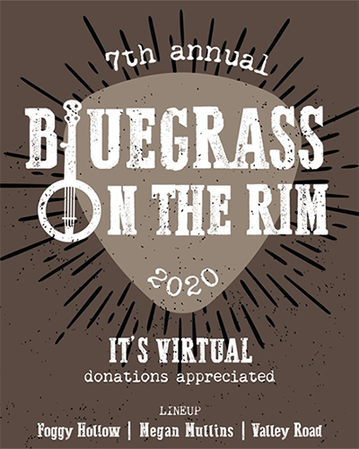 Bluegrass on the Rim Goes Virtual