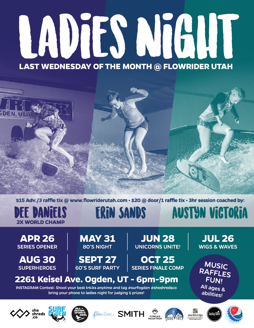 Ladies Night at Flowrider