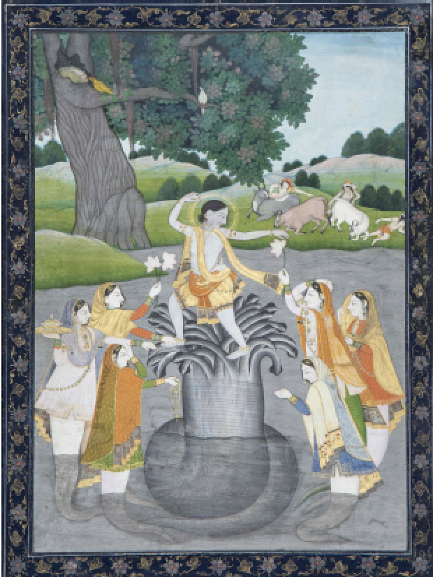 Children's Workshop: Krishna Dancing on the Head of Kaliya