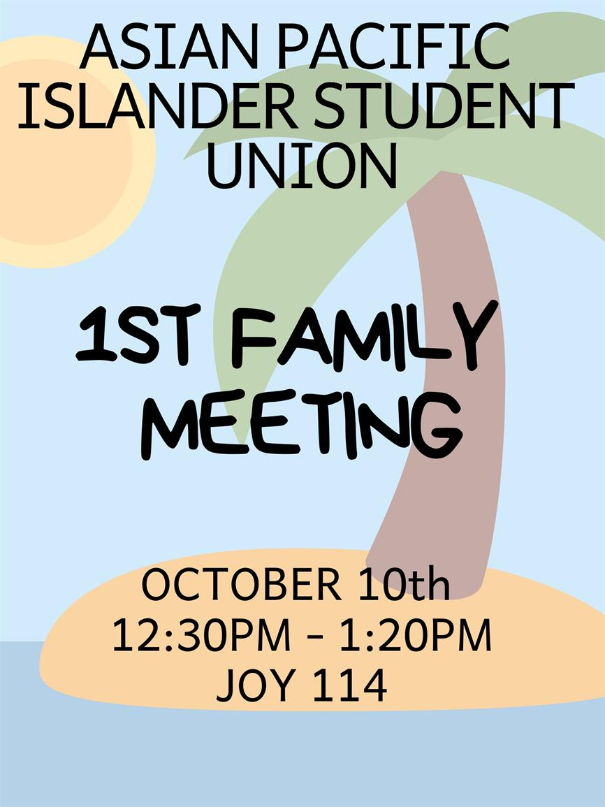 1st Family Meeting