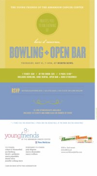 Young Friends of the Abramson Cancer Center @ North Bowl