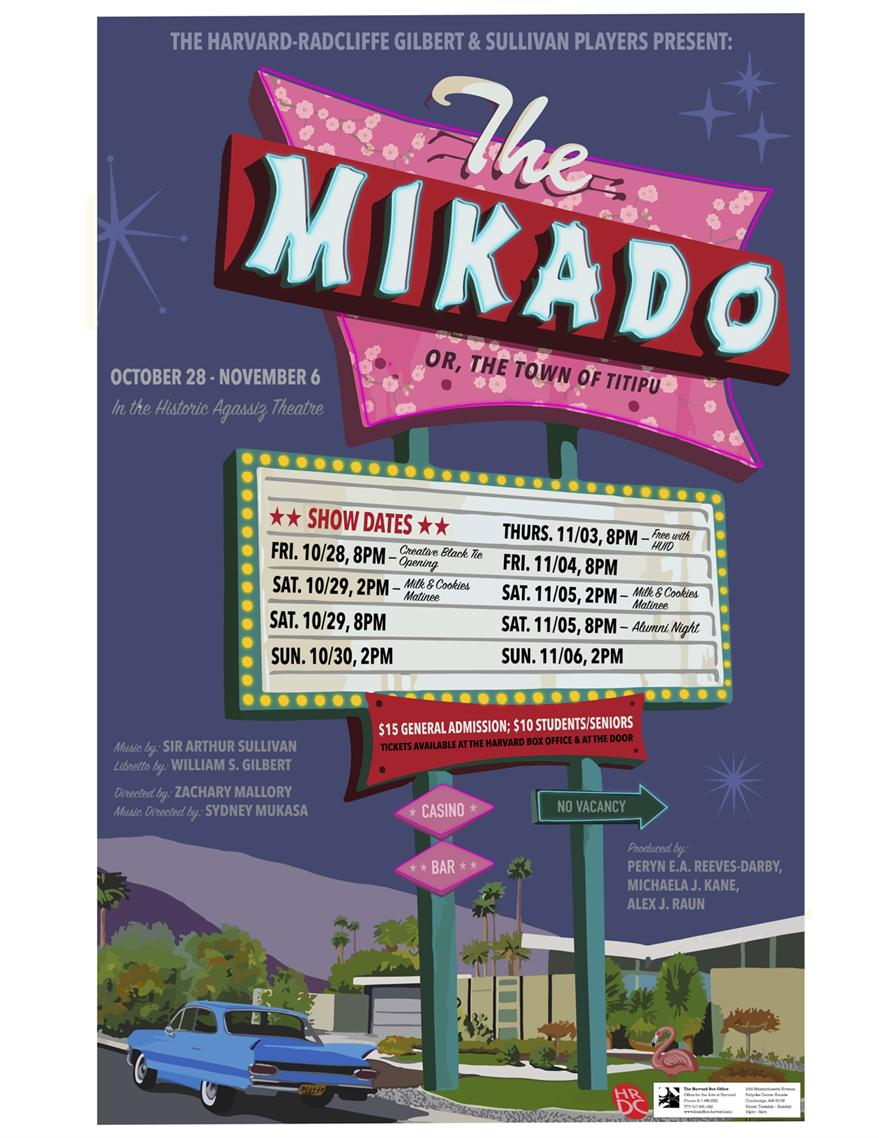 The Mikado; or the City of Titipu