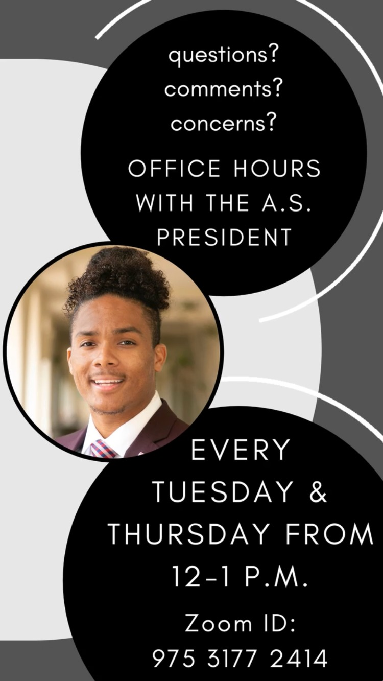 Office Hours with the A.S. President