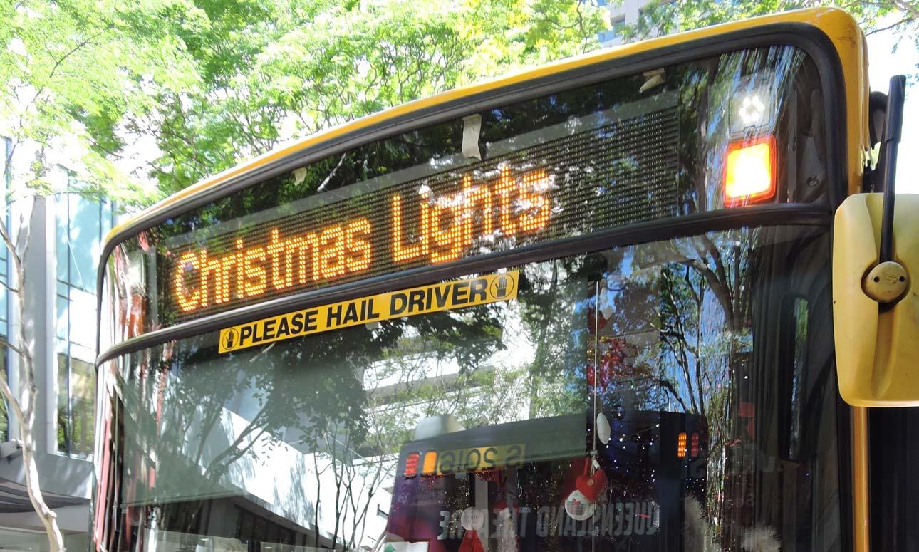 Christmas Lights bus tours - eastern suburbs
