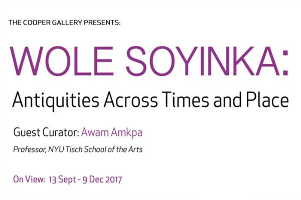 WOLE SOYINKA: Antiquities Through Times and Place