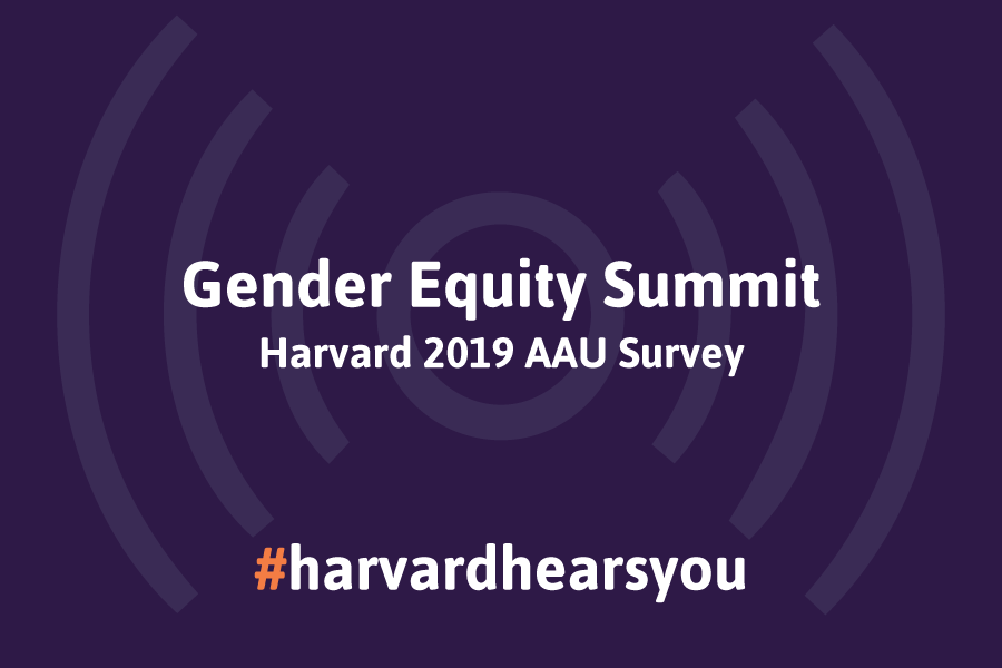 Harvard Hears You: The 2019 Summit for Gender Equity