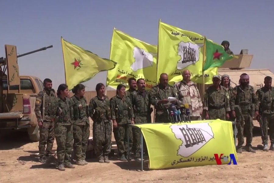 An Enigmatic Insurgency: An Analysis of the Syrian Kurds' campaign from mid-2014 to mid-2017