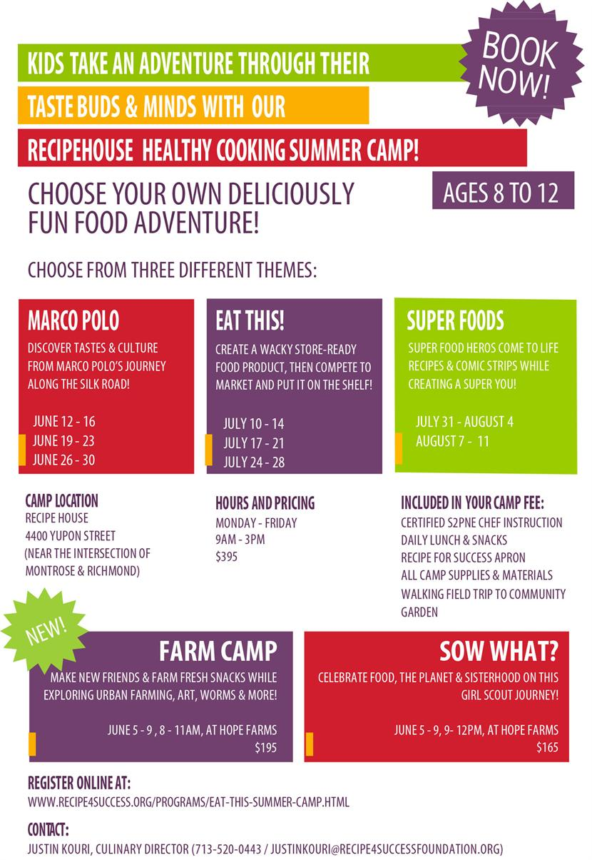 Eat This! Summer Camp