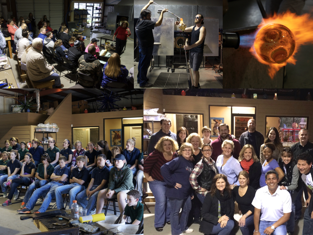 Events @ Three Dimensional Visions Glass Blowing Houston