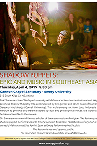 Shadow Puppets: Epic and Music in Southeast Asia
