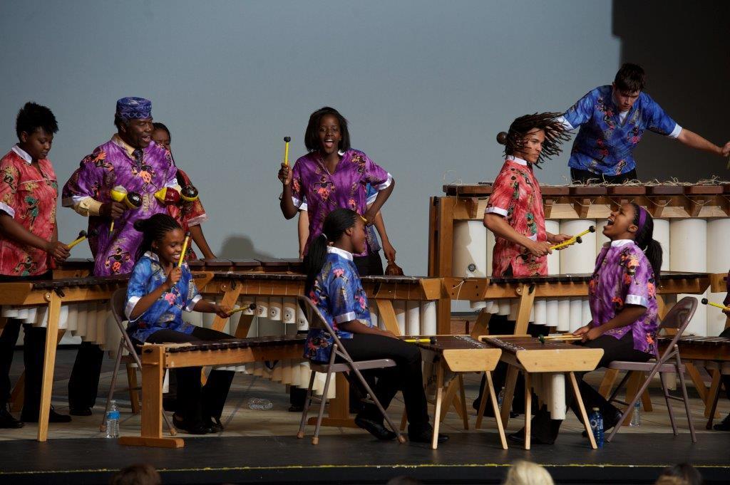 Marimba Band Concert