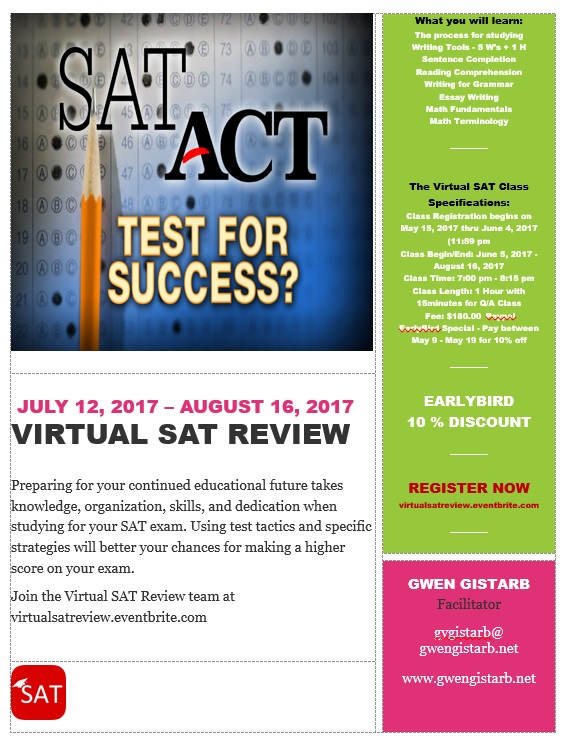 Virtual SAT Review