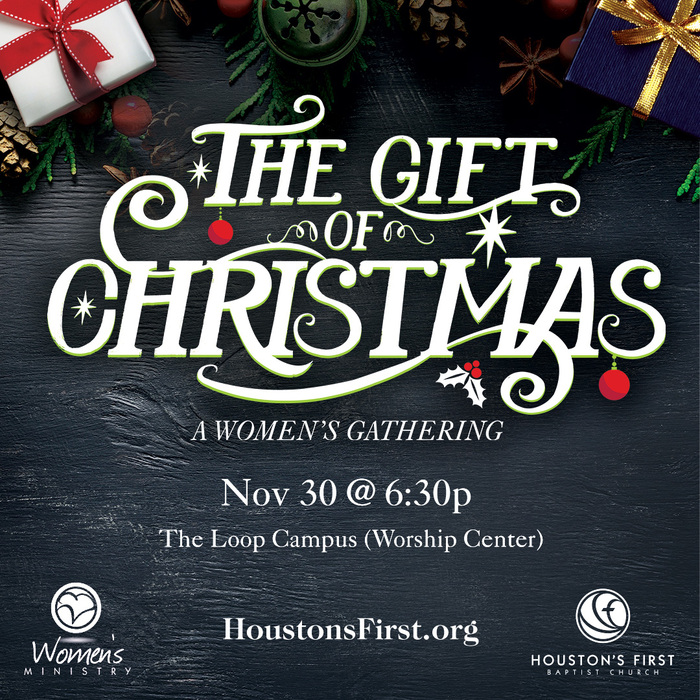 The Gift of Christmas: A Women's Gathering