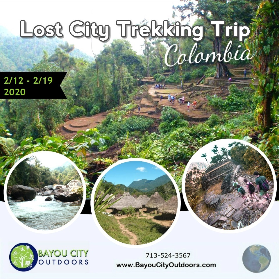 BCO & HTXO present Lost City, Colombia Information Meeting